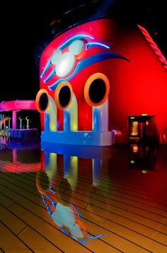 Stacked Reflection - Disney Cruise Line Disney Halloween Cruise, Disney Wonder Cruise, Disney Cruise Ships, Disney Parks, Family Cruise, Disney Family, Cruise Vacation, Dream Vacations, Disney Dream