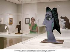 """The sculptures by Pablo Ruiz Picasso, displayed at the exhibition """"Picasso's Late Sculpture: Woman"""". Photo: EFE/Jorge Zapata / Courtesy of the Museo Picasso Málaga Collection"""