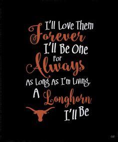 FOREVER A LONGHORN