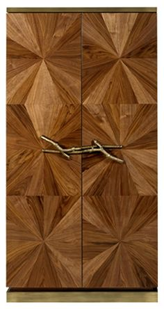 Walnut | Bar Cabinet - Ginger & Jagger | Inspired by Nature
