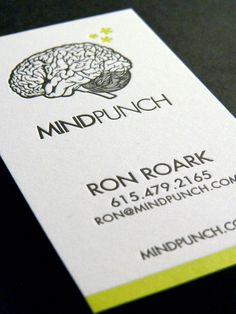 There are many people that doesn't know exactly what letterpress printing is, so I will this article by explaining it. Letterpress printing is a relief printing Unique Business Cards, Professional Business Cards, Business Card Design, Letterpress Business Cards, Letterpress Printing, Funny Commercials, Funny Ads, Commercial Ads, Identity Design