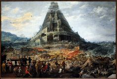 The Tower of Babel - Joos de Momper, 1595