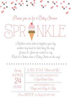 Free printable baby sprinkle invitations baby sprinkle sprinkles ice cream sprinkle baby shower invitation sprinkle invitation ice cream sprinkles invite gender neutral baby shower invite baby shower filmwisefo Gallery