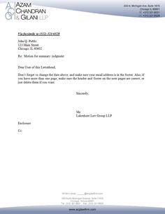 Legal essay