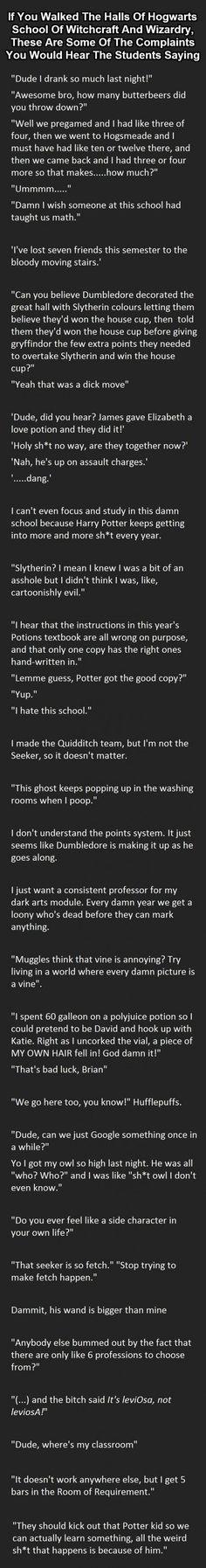 Harry potter probs