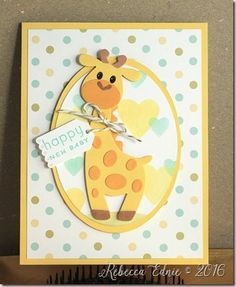 Eclectic Endeavours: Baby Cards