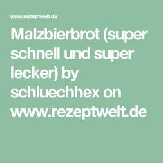 Malzbierbrot (super schnell und super lecker) by schluechhex on www.rezeptwelt.de