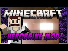 Minecraft: Herobrine Mod  #minecraft #Herobrine #insane #mattyreyrey