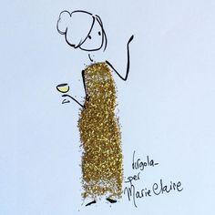 Italian artist Virgola creative stick figure
