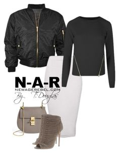 """""""Untitled #458"""" by newagerebel ❤ liked on Polyvore featuring Chloé and Jimmy Choo"""