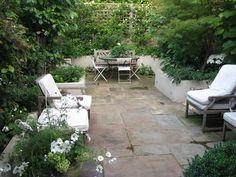 Typical London Home Patio Garden