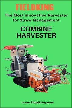 Fieldking Multi-Crop Harvester with Straw Chopper is the Most innovative Harvester for Straw Management best suitable for wetlands and in harvesting variety of crops. #CombineHarvester #harvesterprice #harvestermachine #combineharvestermachine #harvestermachineprice #combineharvesterprice #harvestermachinepriceinIndia #combineharvesterpriceinIndia #minicombineharvesterprice Harvest Corn, Agriculture Machine, Combine Harvester, Chopper, Management, Choppers