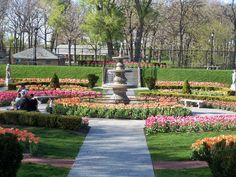 Phillips Park Sunken Garden