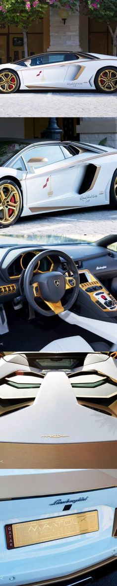 Lamborghini. A good looking car deserves a high quality trunk organizer #luxurious