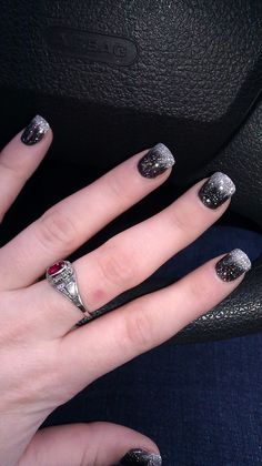 Thanks to Nick at North Bend Nails. Got them done yesterday
