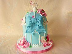 Bird cage cake!