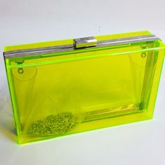 Neon Hard candy clutch