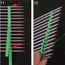 Bildergebnis für paper quilling comb technique