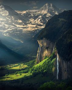 "51.8k Likes, 918 Comments - Max Rive (@maxrivephotography) on Instagram: ""Morning Light for Lauterbrunnen, Switzerland."""