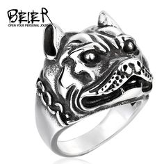 Funky ring for a proud Bulldog owner. Get One for yourself. Limited Stock.