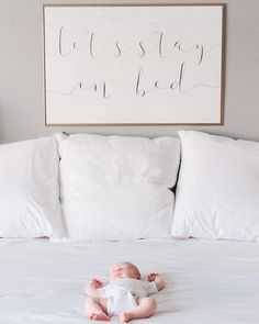 LET'S STAY IN BED // Home Decor by Dear Lily Mae // Printable Wall Art // Instant Download // @dearlilymae on Instagram. Be still, be still my soul, be still and know, be still my heart, the Lord is on thy side, bedroom decor, bedroom inspo, master bedroom, bedroom sign, bedroom art, nursery decor, nursery art, nursery print, bedroom decor, above bed, master bedroom, art prints, printable art