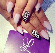 Pink with zebra is always so cute