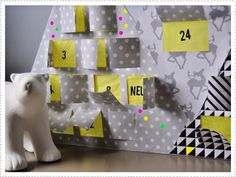 blog byPlou - Calendrier de l'avent - Advent calendar - DIY