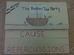Cause, Effect, and Repercussion (Boston Tea Party) -Teaching with a Touch of Twang: More American Revolution