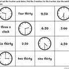 This telling time sort includes three sorts! They are a mixture of telling time to the hour, half hour, and nearest five minutes. Students cut out ...
