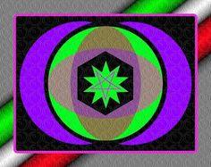 design moderno: Logo astratto techno