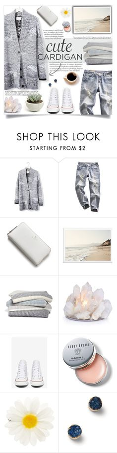 """Cute and Comfy Everyday Cardigan"" by viola-vu ❤ liked on Polyvore featuring Banana Republic, Kate Spade, Barefoot Dreams, Converse, Bobbi Brown Cosmetics, Accessorize and TOMS"