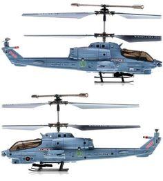 SYMA S108G 3.5 CH Infrared Mini Radio Controlled Marine Cobra Helicopter Gyro.  Price: $18.21