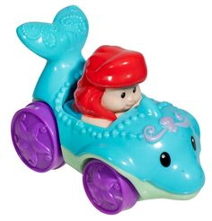 Little People characters from Fisher-Price really know how to get the fun rolling! Wheelies are cool kid-sized vehicles that fit perfectly in little hands. And each has a favorite Little People charac