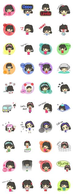 """""""Sarang"""" is a girl who love """"K-pop""""& Korea-Series.""""Sarang"""" make you happy and fun to chat on Line will make you not lonely anymore."""