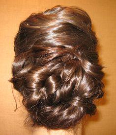 Formal Hair Up do
