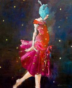 Angela Morgan painting
