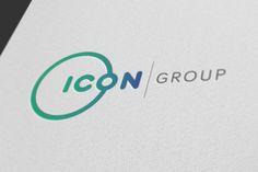 Icon group logo design