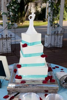 Pretty cake by Erins Custom Cakes