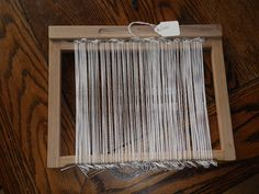 How to String your Heddle Frame