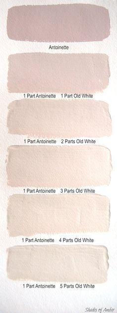 Shades of Amber: Chalk Paint Color Theory - Antoinette