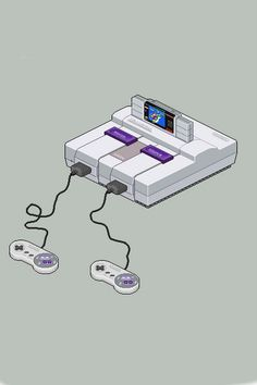 Super Nintendo. Enough said...