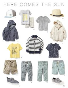 Adorable Affordable Toddler Wardrobes: Spring Edition Toddler Boys Spring Wardrobe The post Adorable Affordable Toddler Wardrobes: Spring Edition appeared first on Toddlers ideas. Baby Outfits, Little Boy Outfits, Toddler Boy Outfits, Kids Outfits, Toddler Dress, Spring Outfits, Dress Outfits, Toddler Boy Fashion, Toddler Girl Style