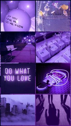 Iphone Wallpaper Tumblr Aesthetic, Aesthetic Pastel Wallpaper, Purple Wallpaper, Purple Backgrounds, Tumblr Wallpaper, Aesthetic Wallpapers, Cute Background Pictures, Collage Background, Lavender Aesthetic