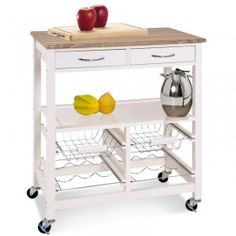 Mooie en betaalbare niet-Ikea keukentrolley's