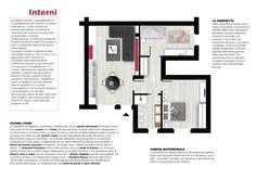 Spazio 14 10 | architettura interni low cost - Roma :: DESIGN Forte dei Marmi: L'arredamento scelto ha uno stile pulito ed essenziale, un design contemporaneo, un'estetica accattivante. Accanto ad elementi dalle forme lineari ci sono complementi d'arredo dal fascino intramontabile. Il progetto cromatico prevede di base una palette di bianco, nero e rosso, cui si aggiungono altre nuances per completare l'atmosfera rendendo confortevole l'aspetto di ogni ambiente.