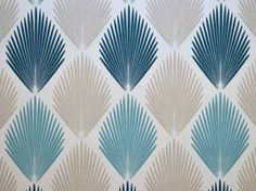 Art deco fabric