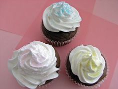 Devil's Food Cupcakes with Marshmallow Frosting