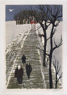 Takagi Shiro (1934-1998), People of the Snow Country, 1978