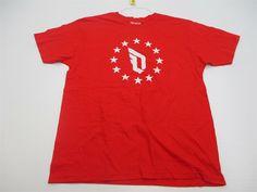 c0ac98535b56 ADIDAS Shirt Men s Size L Athletic DAMIEN LILLARD Crewneck Red  TY4916   fashion  clothing