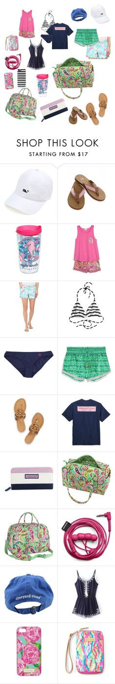 """Contest part 1 (I know I know I went a little crazy)"" by a-forsberg16 ❤ liked on Polyvore featuring Vineyard Vines, Tervis, Vera Bradley, Lilly Pulitzer, Calypso Private Label, Paloma Blue, Tory Burch, Kate Spade and cgdsummerpacking"